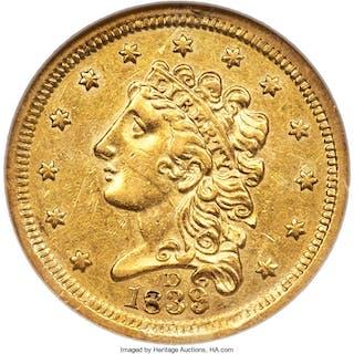 1839-D $2 1/2
