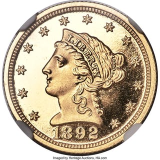 1892 $2 1/2, DC