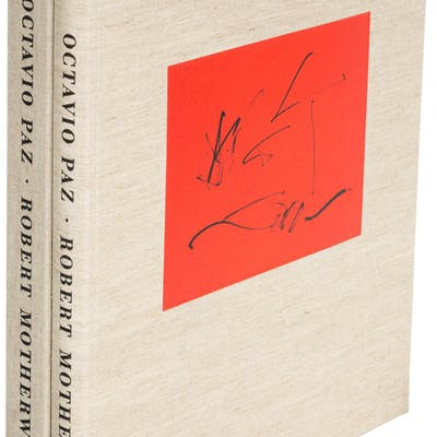 [Limited Editions Club]. Octavio Paz. Three Poems. [New York:] The