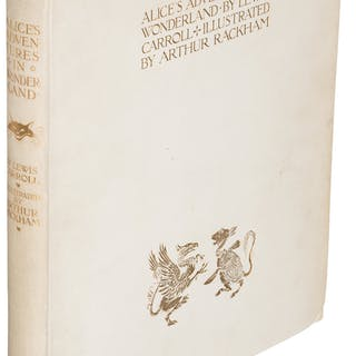 [Arthur Rackham, illustrator]. Lewis Carroll. Alice's Adventures in