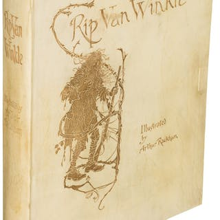 [Arthur Rackham, illustrator]. Washington Irving. Rip Van Winkle.
