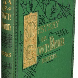 Charles Dickens. The Mystery of Edwin Drood. London: 1870. First edition. ...