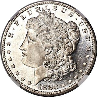 1880-O $1 VAM 4 80/79 Crossbar, PL