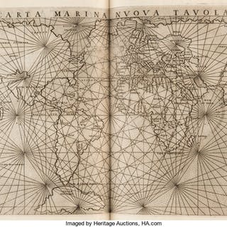 Claudius Ptolemaeus [Ptolemy]. La Geografia di Claudio Tolomeo Alessandrino