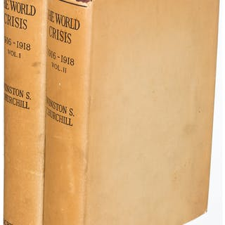 Winston S. Churchill. The World Crisis 1916-1918. New York: 1927.