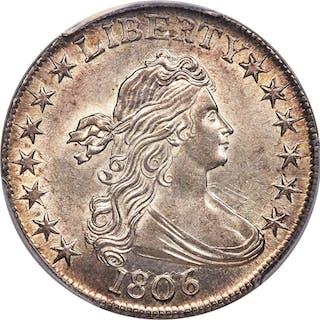 1806 50C O-109, MS