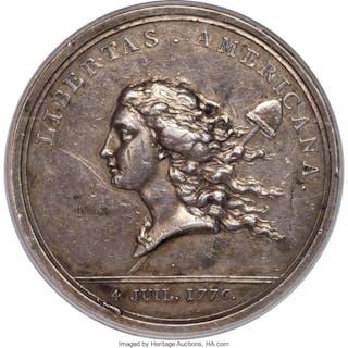 (1781) Libertas Americana Medal, Silver, MS
