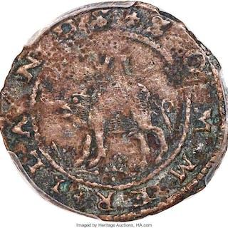 Sommer Islands, Sixpence, Small Portholes, W-11440, British Monetary