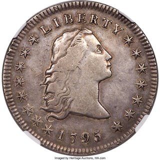 1795 S$1 B-5, BB-27, MS