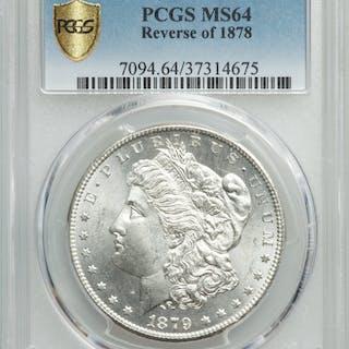 1879-S S$1 Reverse of 1878
