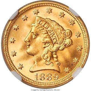 1889 $2 1/2