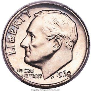 1968 10C NO S, FS-501, PR