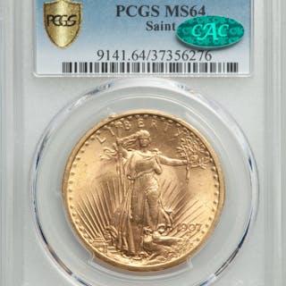 1907 $20 Saint, MS