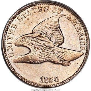 1856 1C FLYING EAGLE S-3
