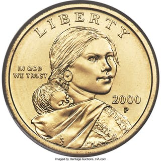 2000-P $1 Sacagawea Cheerios, FS-902, MS