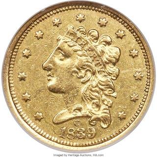 1839-C $2 1/2, MS
