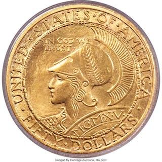 1915-S $50 ROUND