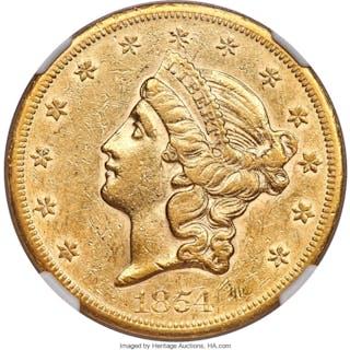 1854-S $20