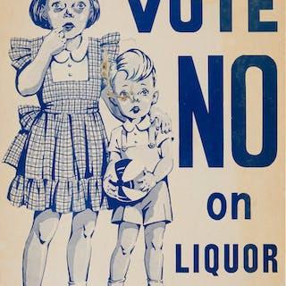 Prohibition: Charming Ballot Measure Poster. ...
