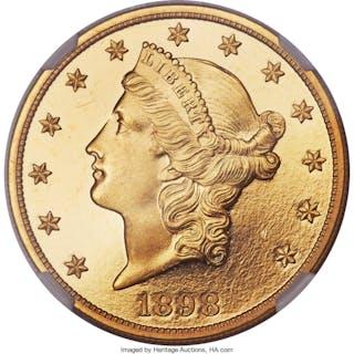1898 $20, DC