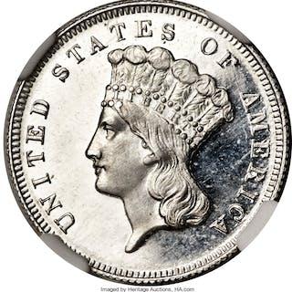 1869 $3 Judd-773, PR, DC