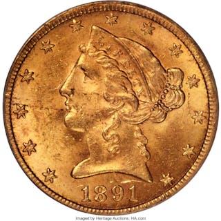 1891-CC $5