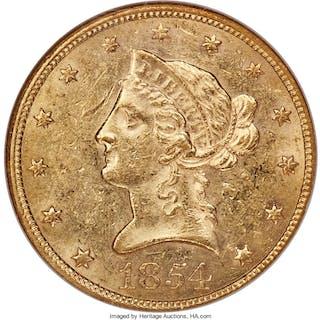 1854 $10