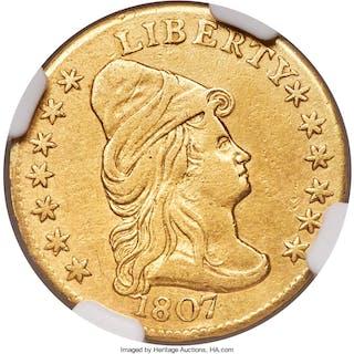 1807 $2 1/2 BD-1, R.3, MS