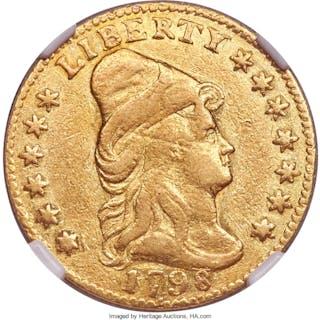 1798 $2 1/2 BD-2