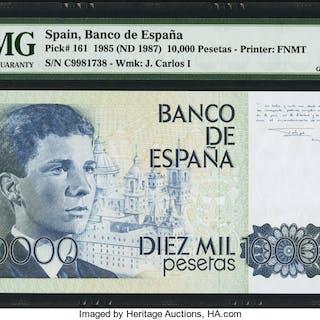 Spain Banco de Espana 10,000 Pesetas 24.9.1985 (ND 1987) Pick 161