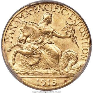 1915-S $2 1/2 Panama-Pacific Quarter Eagle