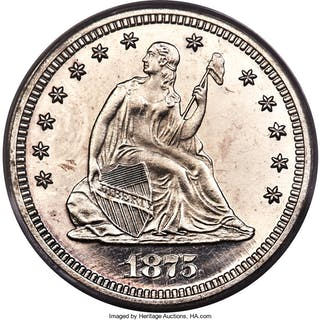 1875 25C, CA