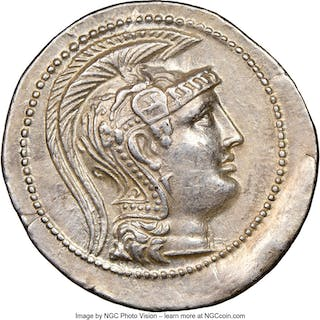 ATTICA. Athens. Ca. 2nd-1st centuries BC. AR tetradrachm (34mm, 16.91
