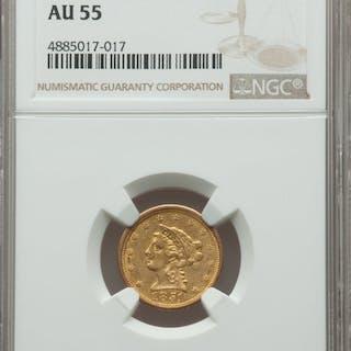 1851-O $2 1/2