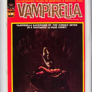 Vampirella (first - Warren) #8