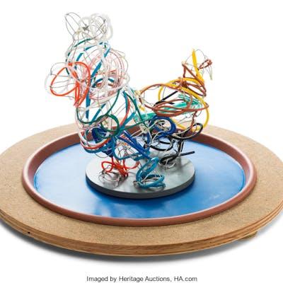 Dennis Oppenheim (American, 1938-2011) Water Dog, 2002 Aluminum wire