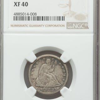 1852-O 25C