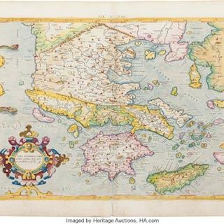[Greece]. Gerard Mercator. Eur. X Tab. [Europae Tabula X. Continens