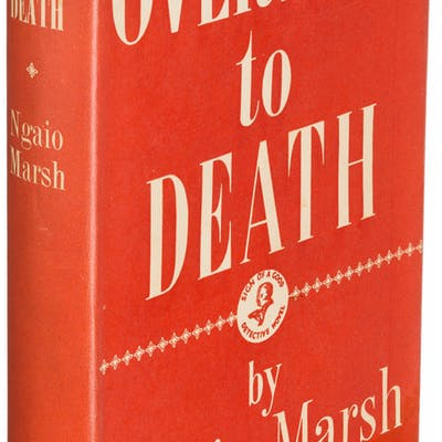 Ngaio Marsh. Overture to Death. London: [1939]. First edition. ...
