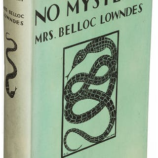 Mrs. Belloc Lowndes. Pair of Two William Heinemann Titles. London: