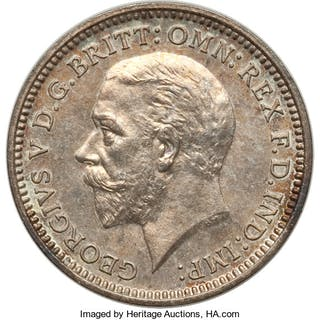 George V 6-Piece Uncertified silver Proof Set 1927, ... (Total: 6 coins)