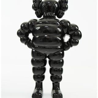 KAWS (b. 1974) Chum (Black), 2002 Cast resin 12-5/8 x 8-1/4 x 4-1/4