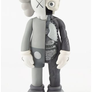 KAWS (b. 1974) Dissected Companion (Grey), 2006 Painted cast vinyl
