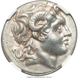 THRACIAN KINGDOM. Lysimachus (305-281 BC). AR tetradrachm (30mm, 17.09