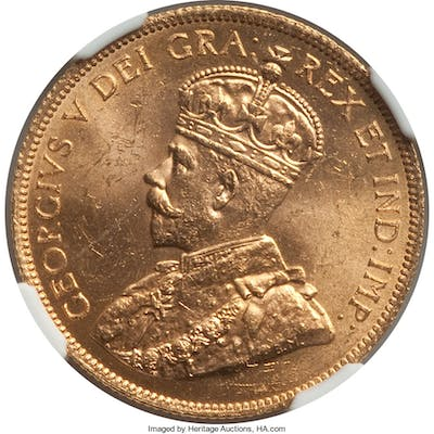 George V gold 10 Dollars 1914 MS63 NGC,...