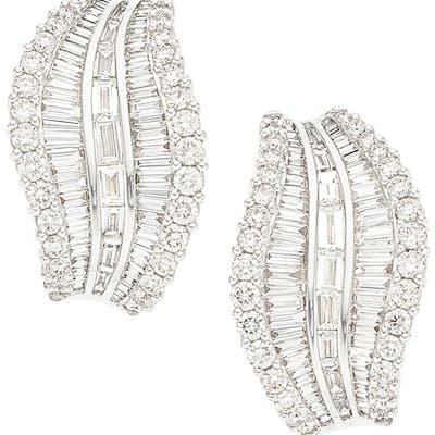 Diamond, White Gold Earrings ...