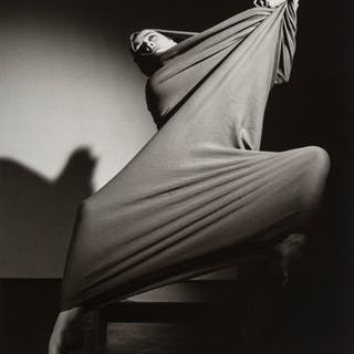 Barbara Morgan (American, 1900-1992) Five Photographs of Martha Graham