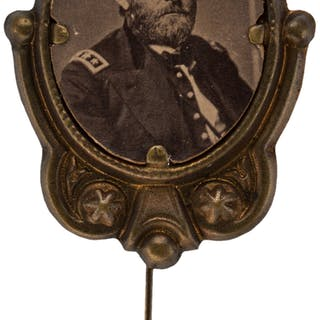 Ulysses S. Grant: Large Campaign Badge. ...