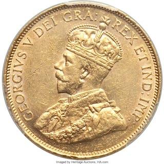 George V gold 10 Dollars 1913 AU Details (Altered Surfaces) PCGS,...