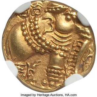 Gangas of Talakad gold Pagoda ND (1100-1327) MS63 NGC,...